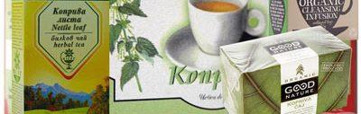 чай от коприва, билки за отслабване