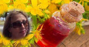 пиене на масло от жълт кантарион
