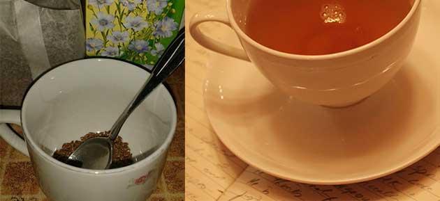 Чай от ленено семе за отслабване как се приготвя?