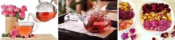 чай от роза, отслабване, фигурин