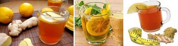 чай от джинджифил, отслабване