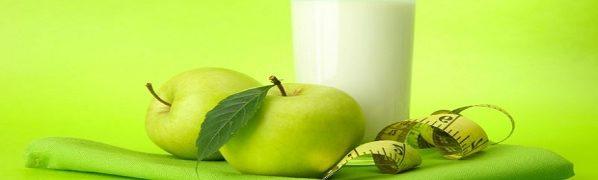 Диети за отслабване, ябълки, мляко