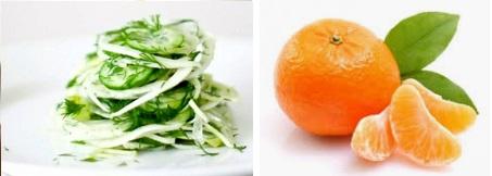 Ваня Червенкова портокали и краставици