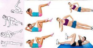 упражнения за отслабване на корем